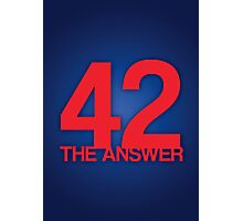 The Answer Photographic Print