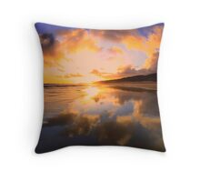 """Fiery Sky"" Throw Pillow"