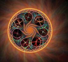 Mystic Swirl by Pam Amos