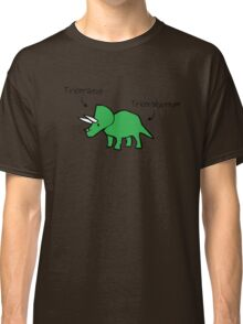Triceratops Tricerabottom Classic T-Shirt