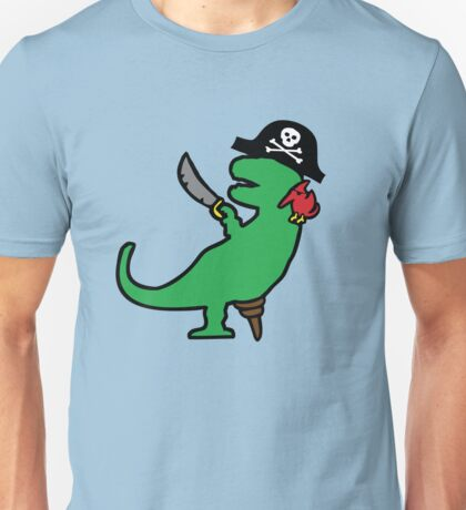 Pirate Dinosaur - T-Rex T-Shirt