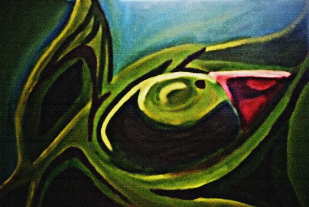 Green Iris by cadellin