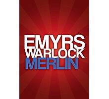 Merlin Poster Photographic Print