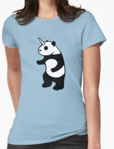 Pandicorn Womens Fitted T-Shirt