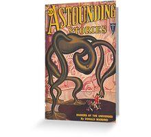 Astounding Stories September Greeting Card