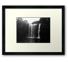 Rainbow Falls from Below Framed Print