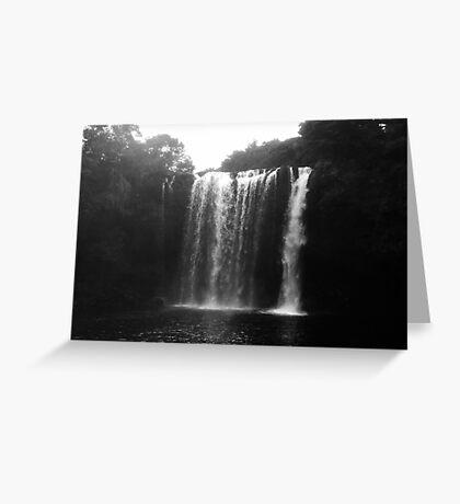 Rainbow Falls from Below Greeting Card