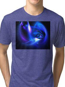 Delphinium Tri-blend T-Shirt