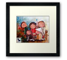 Foundling Framed Print