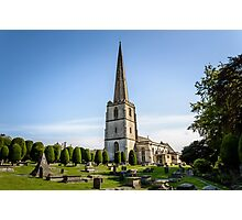 Parish Church of Saint Mary in Painswick, The Cotswolds Photographic Print