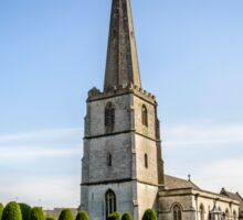 Parish Church of Saint Mary in Painswick, The Cotswolds Sticker