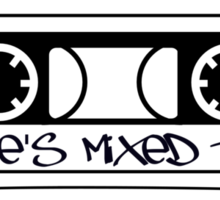 Chillee's Mixed Tape 2 by Chillee Wilson Sticker