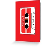 Mixtape Cassette Tape by Chillee Wilson Greeting Card