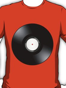 Vinyl Record by Chillee Wilson T-Shirt
