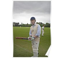 Jo Johnson Mp For Orpington playing cricket Poster