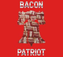 Bacon Patriot - American Liberty Bell - United States of America Kids Clothes