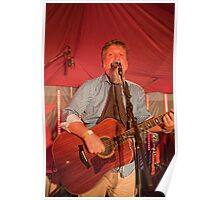 Glenn Tilbrook from Squeeze performing in Biggin Hill Poster