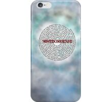 Whedonverse iPhone Case/Skin