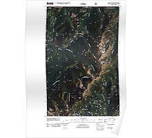 USGS Topo Map Washington State WA Gypsy Peak 20110428 TM Poster