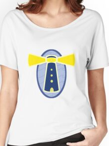 Stylised lighthouse Women's Relaxed Fit T-Shirt