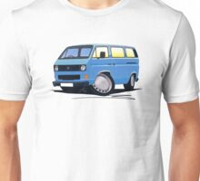 VW T25 / T3 Blue Unisex T-Shirt