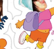 Dora Uncensored Sticker
