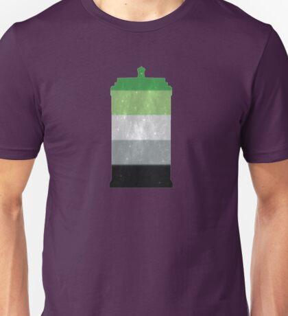 Aro Pride Police Box Unisex T-Shirt
