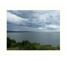 Bay of Fundy Art Print