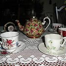 A group Of China Tea cups And Tea Pots by ack1128