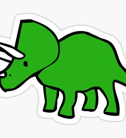 Cute Triceratops Sticker