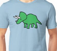 Cute Triceratops Unisex T-Shirt