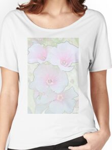 Lavatera Blossoms  Women's Relaxed Fit T-Shirt