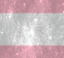 Trans Pride TARDIS Sticker