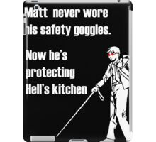 The goggles do nothing! iPad Case/Skin
