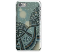 Celtic Winter Forest iPhone Case/Skin