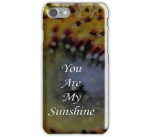 You Are My Sunshine - Daily Homework - Day 29 - June 5, 2012 iPhone Case/Skin