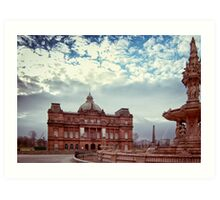 People's Palace & Doulton Fountain Art Print