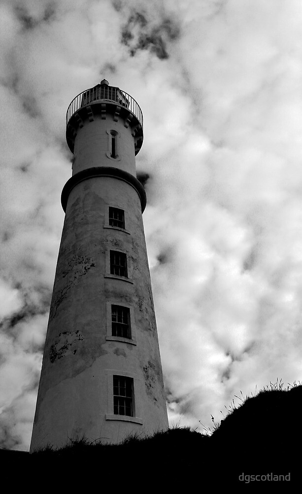 Lighthouse Mono by dgscotland