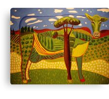 She's Not a Silly Old Cow. Canvas Print