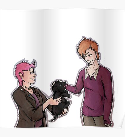 Tonks, Remus, Puppy Poster
