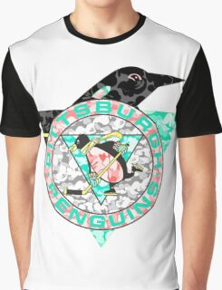 PENGUINS WHITE Graphic T-Shirt