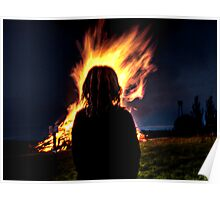 Fire Girl Poster
