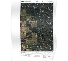 USGS Topo Map Washington State WA Tacoma Peak 20110428 TM Poster