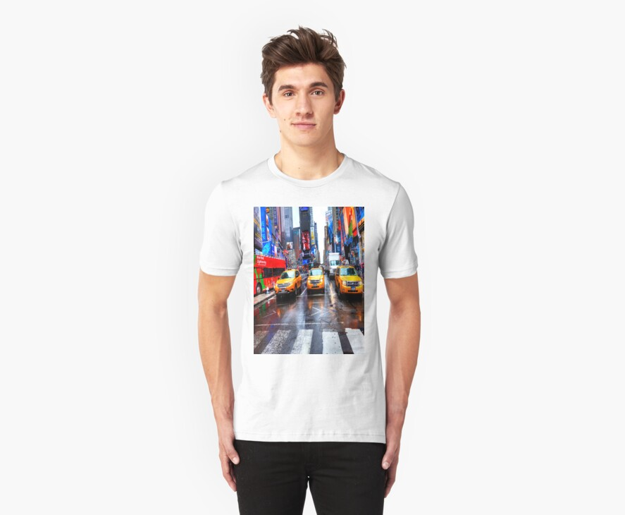 Times Square T Shirt by Paul Thompson Photography
