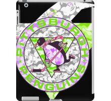 PENGUINS BLACK iPad Case/Skin