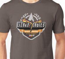Trek.fm: Team Lizard Babies (Dark) Unisex T-Shirt
