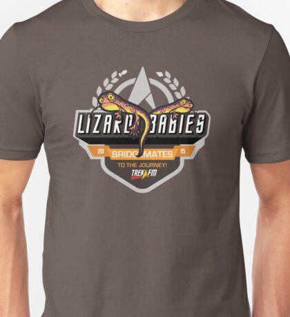 Trek.fm: Team Lizard Babies (Dark) T-Shirt