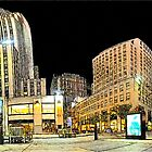 New-York Rockfeller Plaza  (Comic Look) by André Rizzotti
