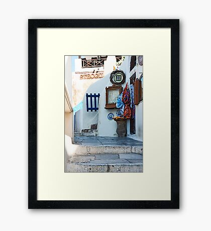 Little Street Framed Print
