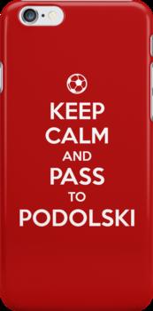 Keep Calm and Pass to Podolski  by aizo